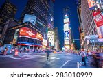 new york city  ny   jun 24 ... | Shutterstock . vector #283010999