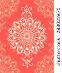ornament beautiful pattern with ...   Shutterstock .eps vector #283022675