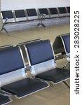 a photo of airport lounge row... | Shutterstock . vector #283028225