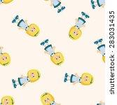 alice in wonderland  seamless... | Shutterstock .eps vector #283031435
