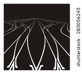 Railroad Junction Illustration