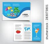 summer brochure   Shutterstock .eps vector #283073801