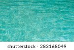 blue pool water surface with... | Shutterstock . vector #283168049