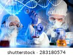 science  chemistry  biology ... | Shutterstock . vector #283180574