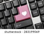 close up view on conceptual... | Shutterstock . vector #283199069