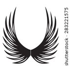 tribal tattoos design element....   Shutterstock .eps vector #283221575