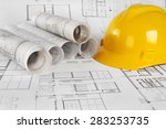 architectural project   | Shutterstock . vector #283253735