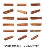 Set Of Multiple Single Cinnamo...