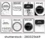 vintage set of different grunge ... | Shutterstock .eps vector #283325669