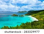 aerial view of picturesque...   Shutterstock . vector #283329977