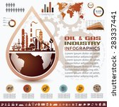 oil and gas industry... | Shutterstock .eps vector #283337441