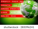 best internet concept of global ...   Shutterstock . vector #283396241