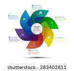 vector design turbine for... | Shutterstock .eps vector #283402811