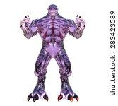 monster   Shutterstock . vector #283423589