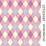soft pastel pink and blue... | Shutterstock . vector #283425125