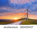Wind Turbines In Oiz Eolic Par...