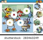 cartoon vector illustration of... | Shutterstock .eps vector #283463249
