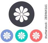 flower icon | Shutterstock .eps vector #283464161