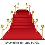 red carpet v2 illustration | Shutterstock . vector #28350733