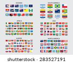 flags of the world set... | Shutterstock . vector #283527191