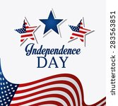 independence day design over... | Shutterstock .eps vector #283563851