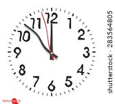 lost time | Shutterstock .eps vector #283564805