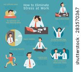 infographics of how to... | Shutterstock .eps vector #283570367