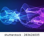 abstract vector background.... | Shutterstock .eps vector #283626035