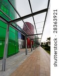 Sheltered Walkway Beside A...