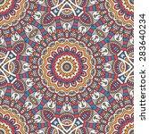 seamless pattern. vintage... | Shutterstock .eps vector #283640234