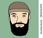 hipster  lumberjack  or... | Shutterstock .eps vector #283656494