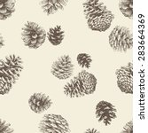 Pattern Of The Pine Cones