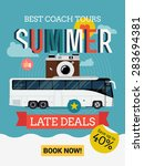 cool web banner or printable... | Shutterstock .eps vector #283694381