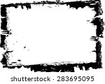 grunge frame   abstract texture.... | Shutterstock .eps vector #283695095