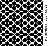 black and white geometric... | Shutterstock .eps vector #283733711