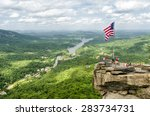 Overlooking Chimney Rock At...