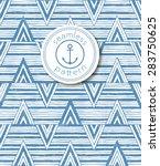 hand drawn seamless striped... | Shutterstock .eps vector #283750625
