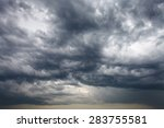 Dark Storm Clouds In The...