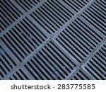 metallic grating for ventilation | Shutterstock . vector #283775585