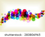 bright circles background | Shutterstock .eps vector #283806965