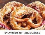 original bavarian oktoberfest...   Shutterstock . vector #283808561