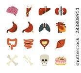 disease vector illustration... | Shutterstock .eps vector #283808951