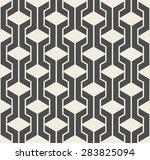 vector seamless pattern. modern ... | Shutterstock .eps vector #283825094