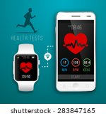 Smart Watch With Fitness...