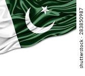 Pakistan  Flag Of Silk And...