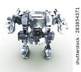 high quality 3d render of... | Shutterstock . vector #283854371
