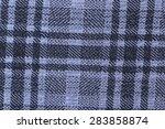 macro purple plaid fabric... | Shutterstock . vector #283858874