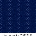 vector seamless nautical deep... | Shutterstock .eps vector #283923191