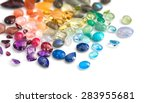 variety of real colorful... | Shutterstock . vector #283955681