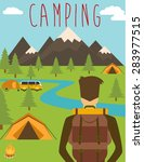 camping | Shutterstock .eps vector #283977515